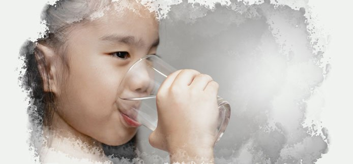 Give your child lots of fluids