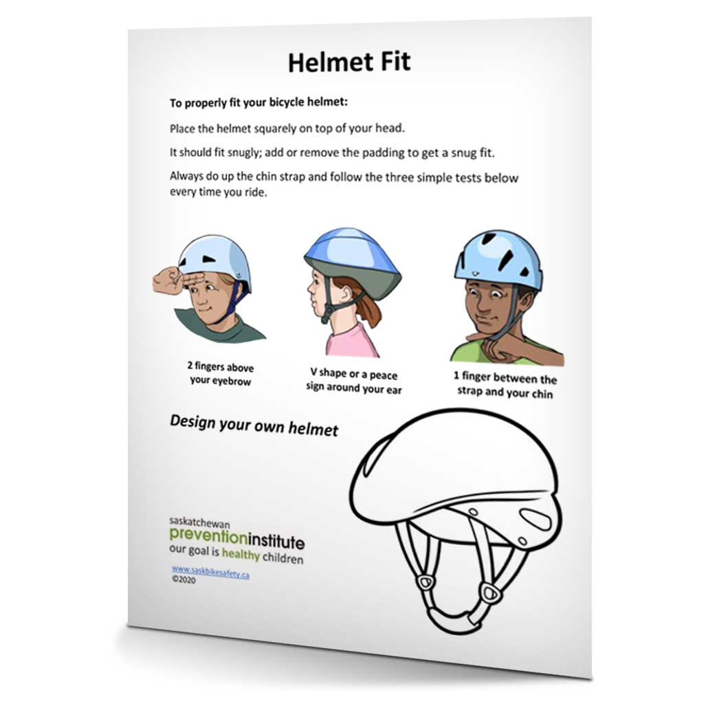 Bicycle Safety 2020 Helmet Fit
