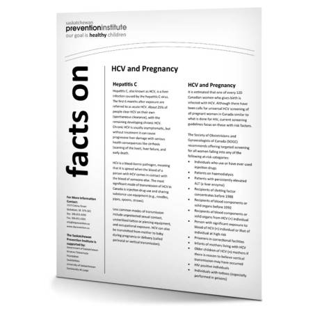 7-500: HCV and Pregnancy Fact Sheet