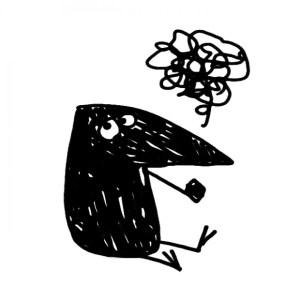 logo - its a bird - skraentskov visitkort