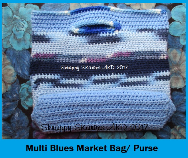 14d Blue Market Bag