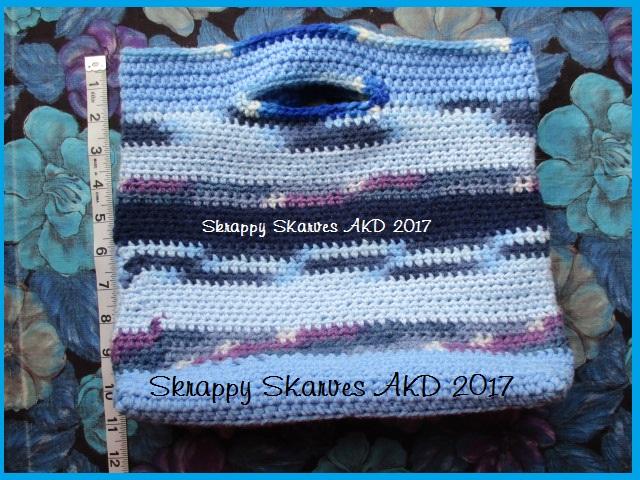 14f Blue Market Bag