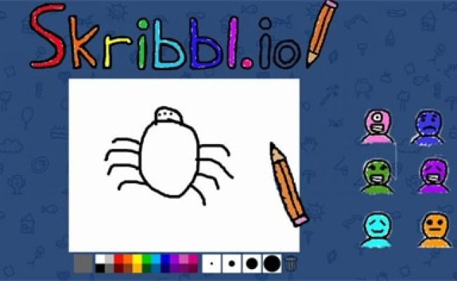 Skribbl Io Drawing Game Skribbl Io Unblocked Play