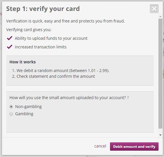 Verify Card