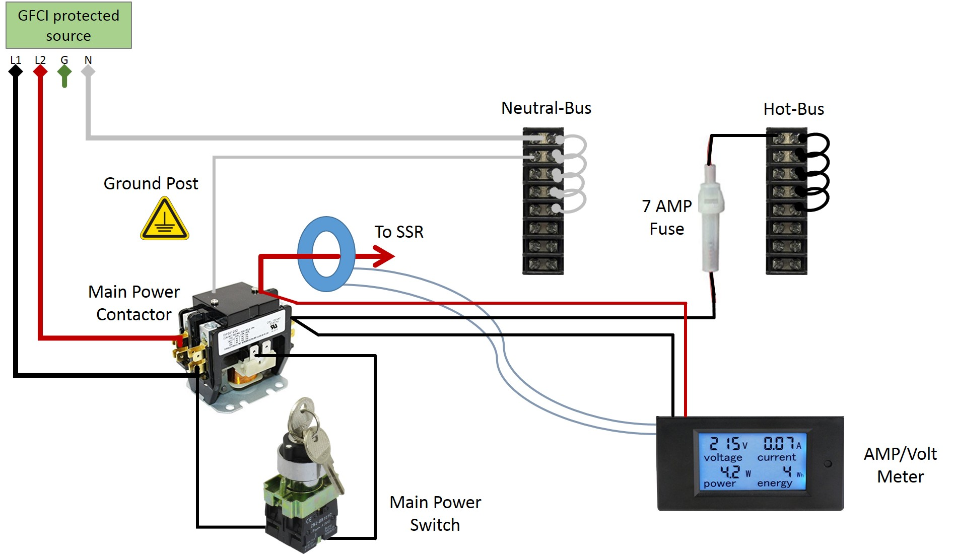 Pid Controller Wiring Diagram 230v E Herms Brewery Build Forum Skrilnetz