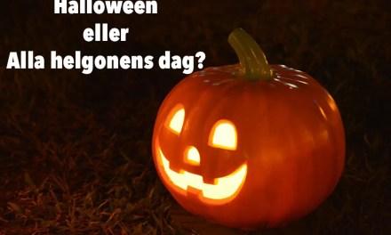 Skriv en haiku om Halloween eller Alla Helgonens dag