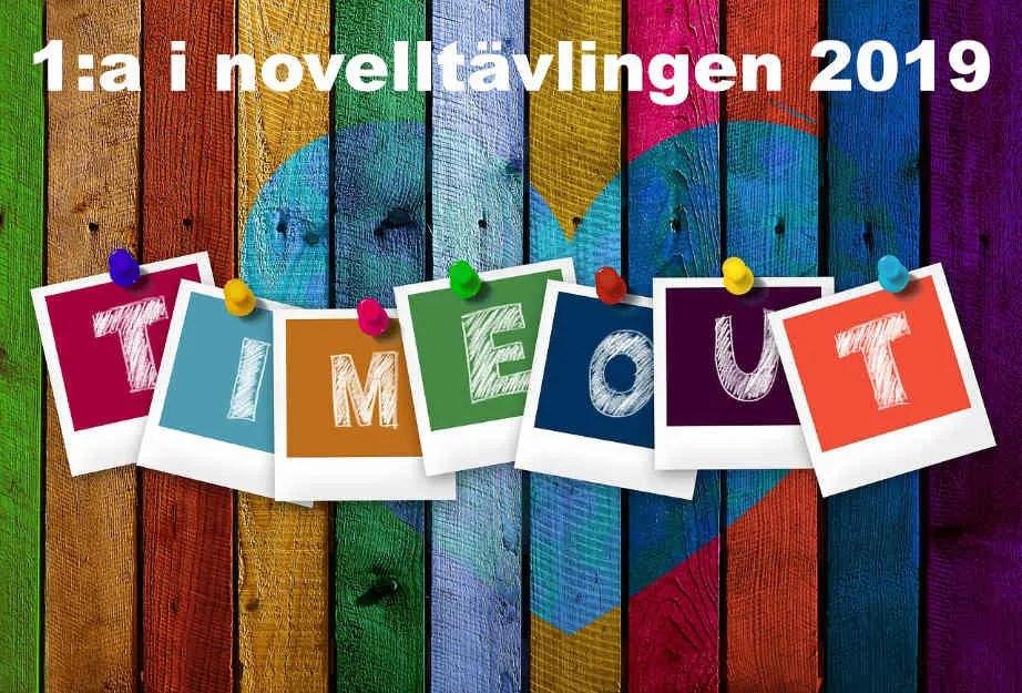 Bosse tar time out – 1:a i novelltävlingen 2019