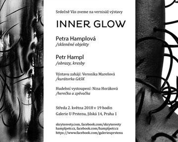 Pozvánka na výstavu INNER GLOW