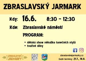Zbraslavský jarmark – červen 2018