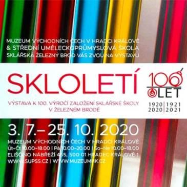 SKLOLETÍ / Výstava k100.výročí založení sklářské školy