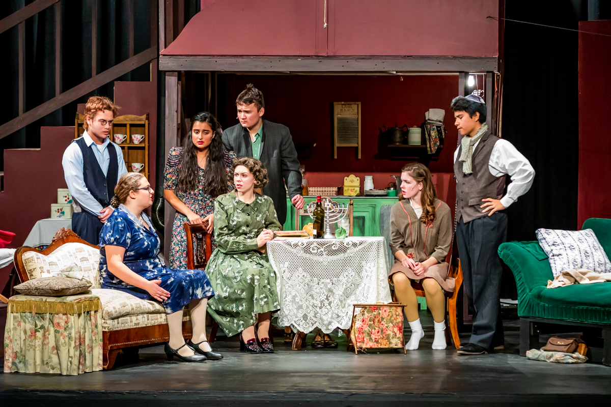 Fall Theater Production The Diary Of Anne Frank
