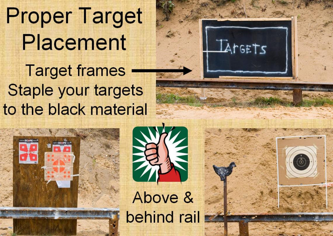 Proper Target Placements