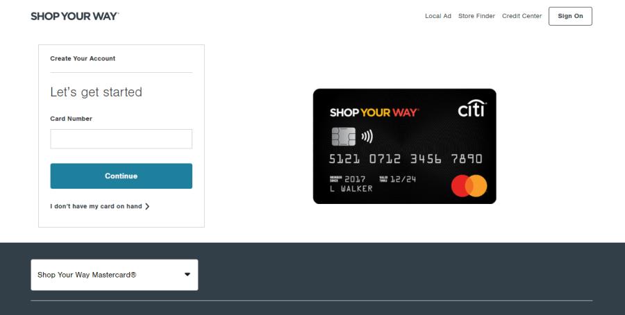Activate.syw.accountonline.com – Shop Your Way Mastercard