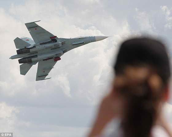 самолет СУ-34
