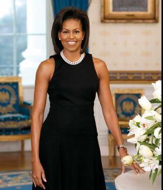 Мишель Обама на инаугурации Трампа, ее лицо стало главным мемом