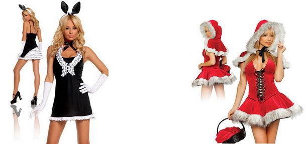 Новогодние костюмы для девушек