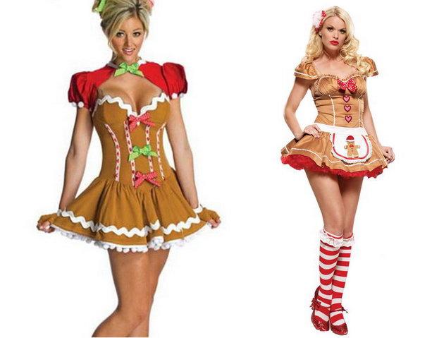 новогодний костюм имбирного печенья