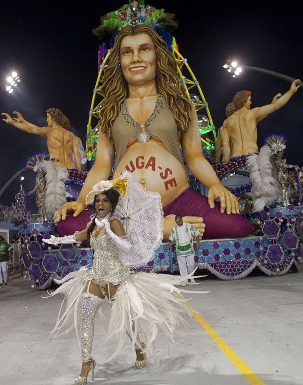 танцоры карнавал Бразилия