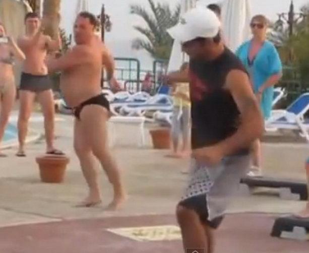 танец толстого мужчины
