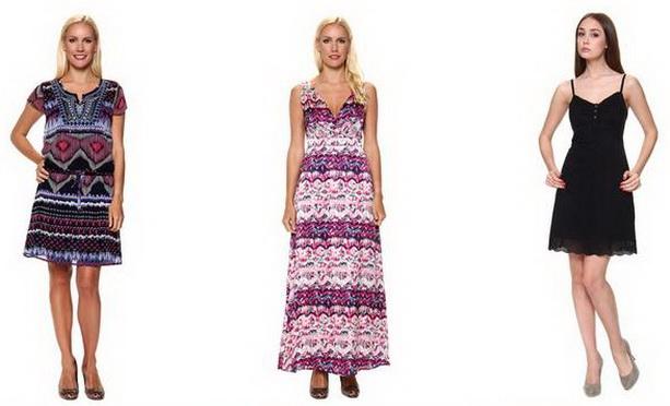 легкие летние женские платья Tom Tailor
