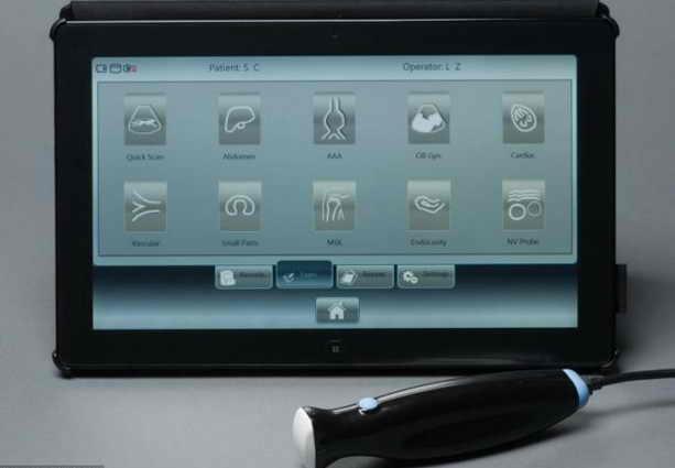 Сканер  MobiUS поставляется с таблеткой Windows