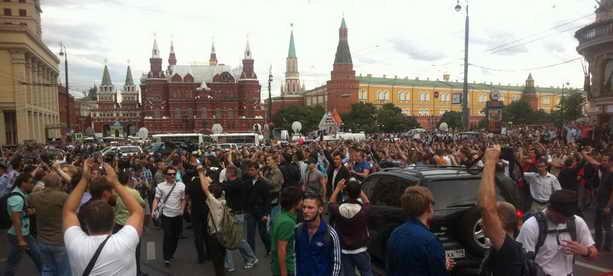 18 июля Москва стихийный митинг из-за приговора Навальному