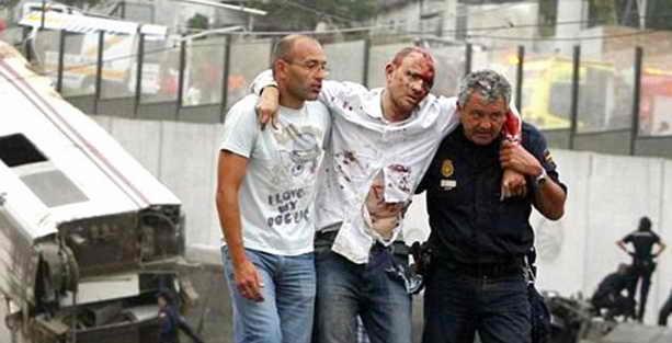 Кровавая жд катастрофа в Испании