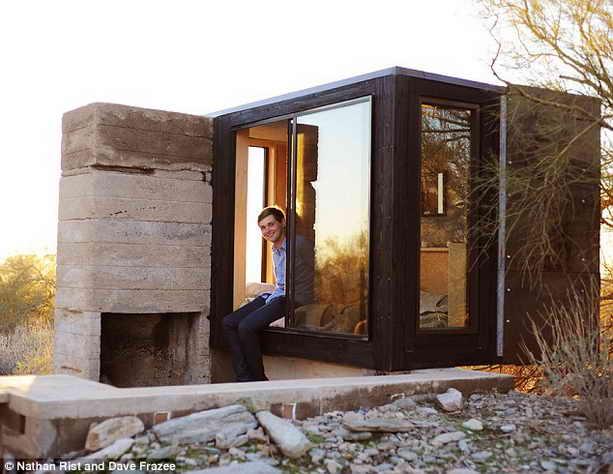 Дэйв Фрэзи и его мини-дом