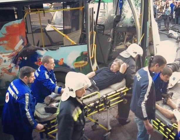 ДТП в Петербурге: 12 пострадавших
