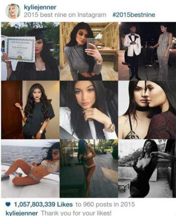 best nine instagram
