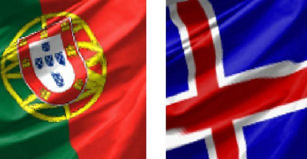 Португалия — Исландия 14 июня 2016
