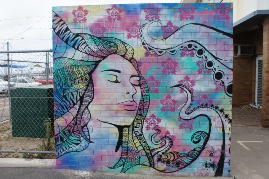 beautiful art in Geraldton
