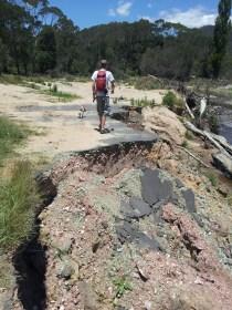 Broken road, Goobagandra