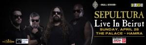 Sepultura Live In Beirut