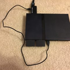 Ps2 Controller To Usb Wiring Diagram Rv Solar Connecting A An Hdmi Tv Skulls In The Stars Converter With Power Connected Controllers And Plugs Left Out So Connections Are Clear