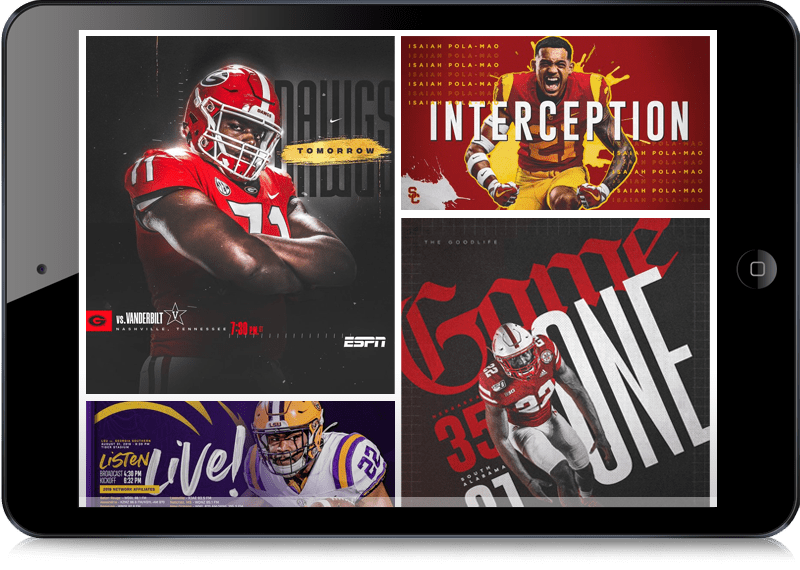 2019 College Football Visual Branding
