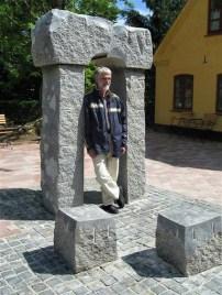 Port - granit. Hjartbro