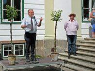 Carlhüttes Hans-Julius Ahlmann (tv) og Augustianas Kim Nørballe