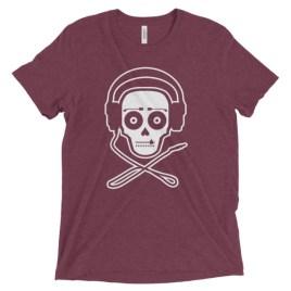 """DJ Skull"" t-shirt"