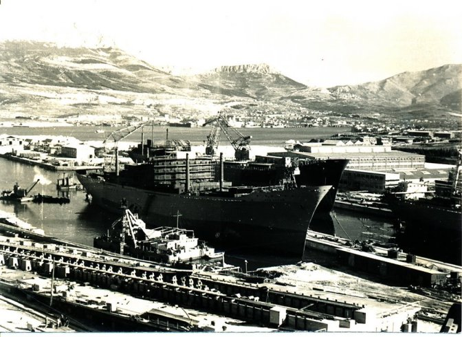Brod Lago Lacar za Argentinu 1962.