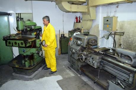 Radionica za izradu epruveta - Glodalica i Tokarilica