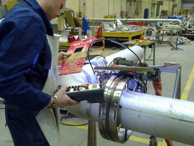 Zavarivanje cijevi od nehrđajuceg čelika