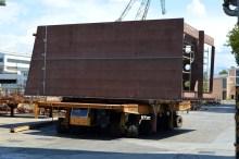 Obrada čelika za projekt MOSE - Unutarnji transport