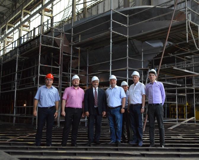 Predstavnici Iraka posjetili Brodosplit, 10.8.2016. - FOTO Škveranka