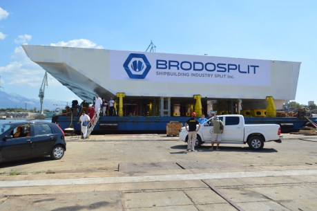 Brodosplit - Projekt MOSE - Transport, 3.9.2016. - FOTO Škveranka (11)
