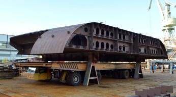 Izgradnja grupe 301 za Novogradnju 484 -- Transport Brodosplit