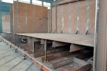 Izgradnja grupe 313 za Novogradnju 484 na liniji za montažu i zavarivanje polusekcija u brodoobradnoj radionici