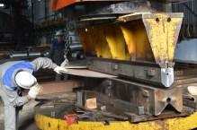 Oblikovanje limova za Novogradnju 484 na horizontalnoj presi 1000 t