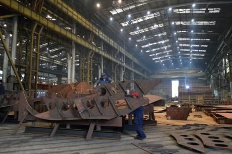 Obrada čelika za Novogradnju 484 - Brodosplit NPH