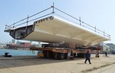 Izgradnja prvog celicnog segmenta za Most Ciovo (12)